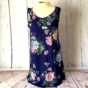 Angelica - Floral Tank Dress